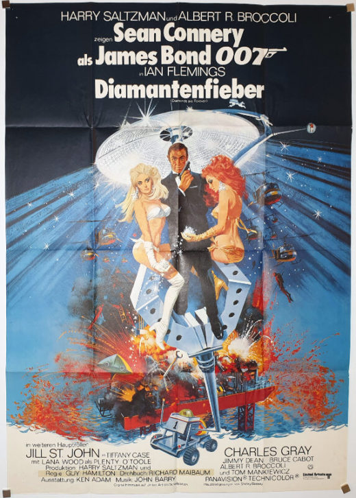 Diamonds Are Forever / DIN A0 / Germany