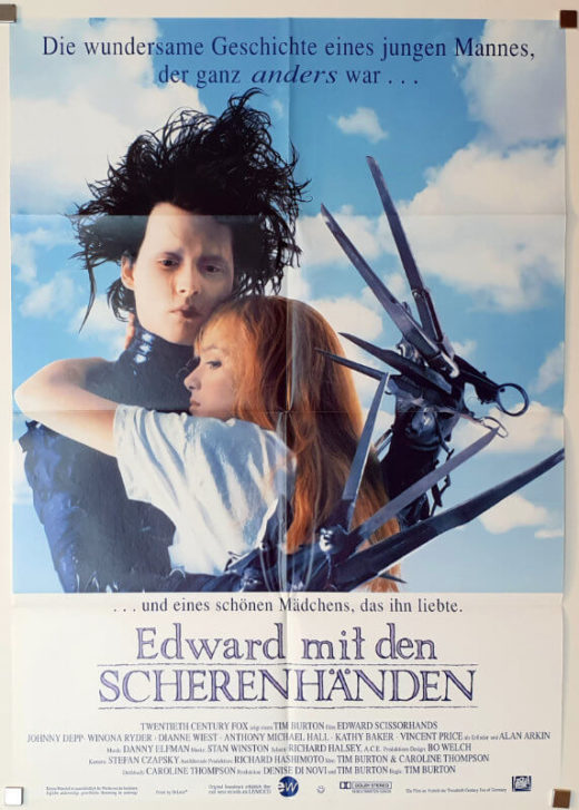 Edward Scissorhands / DIN A1 / Germany