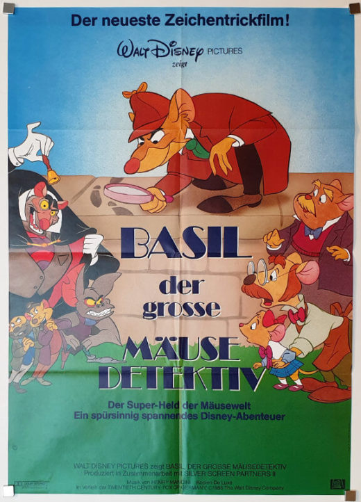 The Great Mouse Detective / DIN A1 / Germany