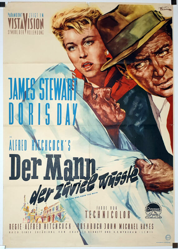 The Man Who Knew Too Much / Germany / DIN A1