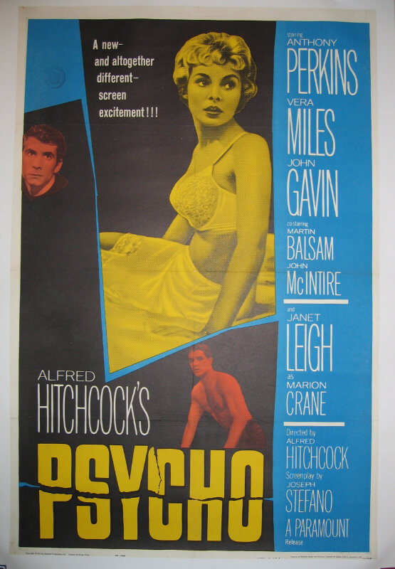 Psycho / One sheet / USA