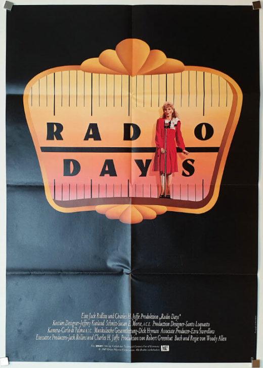Radio Days / DIN A1 / Germany