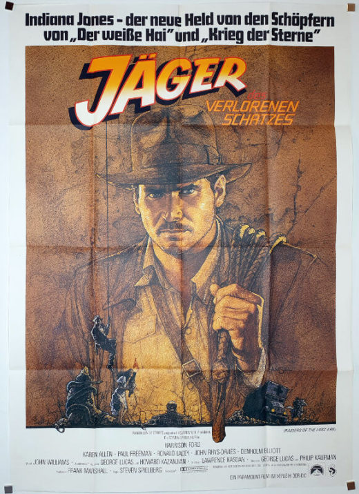 Raiders of the Lost Ark / DIN A0 / Germany