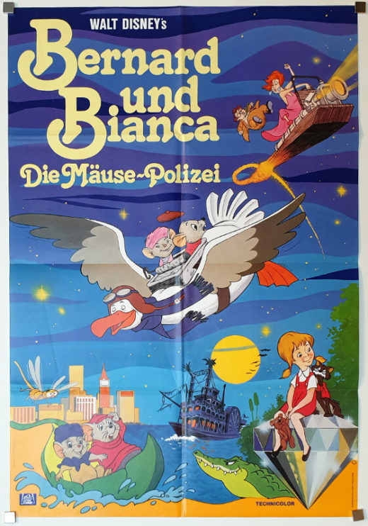 The Rescuers / DIN A1 / Germany R-82