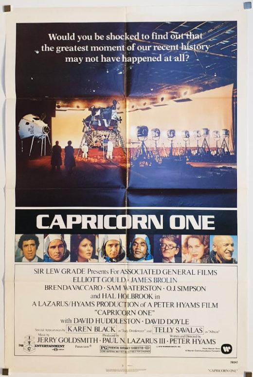 Capricorn One / One Sheet / USA