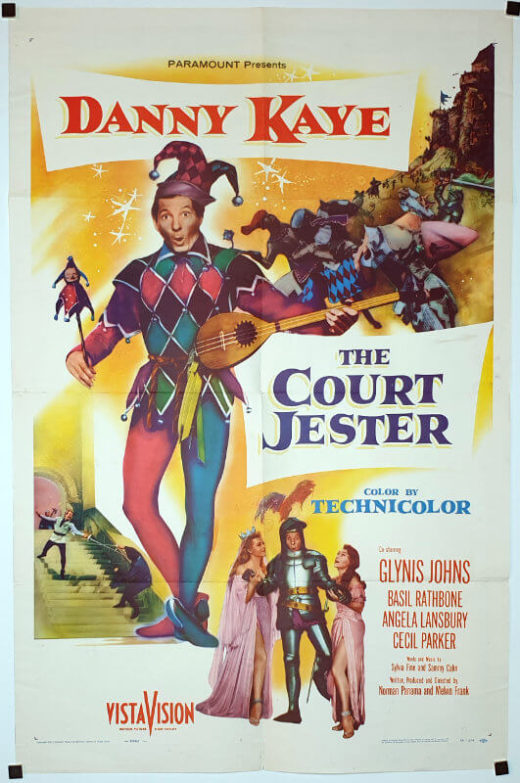 The Court Jester / One Sheet / USA