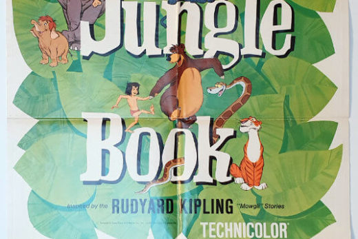 The Jungle Book / Charlie, the Lomesome Cougar / One Sheet / USA