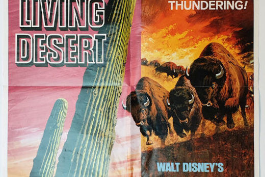 The Living Desert / The Vanishing Prairie / One Sheet / USA