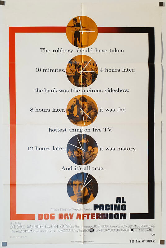 Dog Day Afternoon / One Sheet / USA