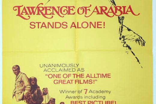 Lawrence Of Arabia / One Sheet - R-71 / USA