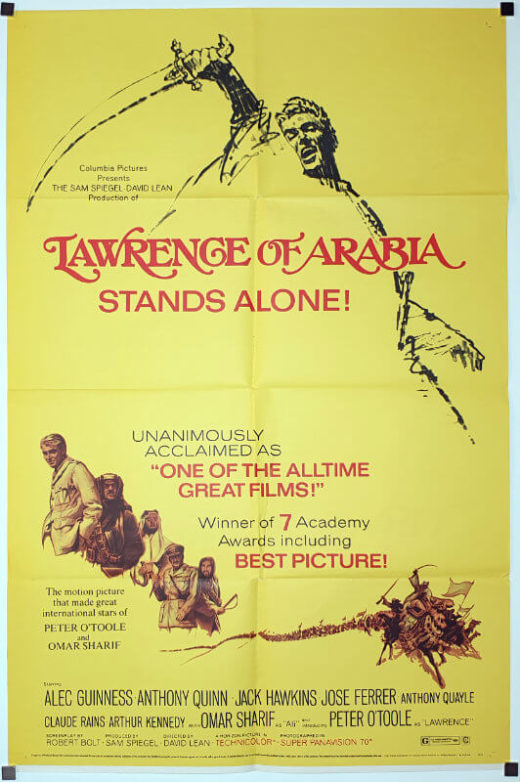 Lawrence Of Arabia / One Sheet - R-71 / USA