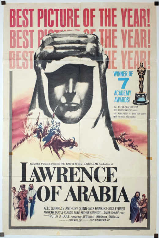 Lawrence Of Arabia / One Sheet Style D / USA