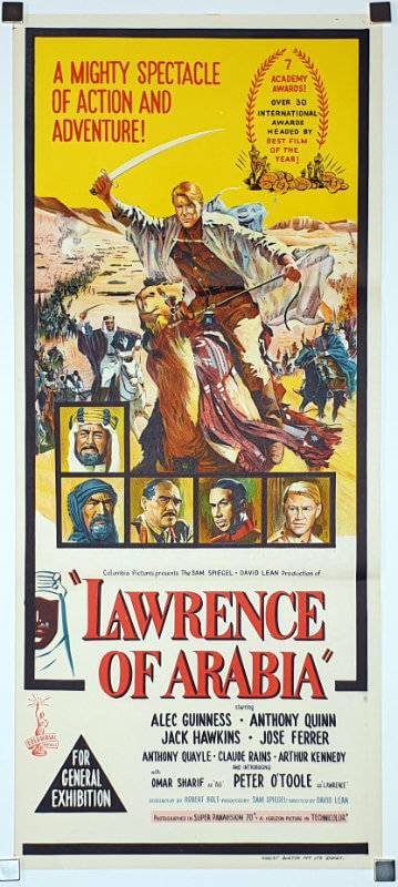 Lawrence Of Arabia / Australian Daybill / Australia