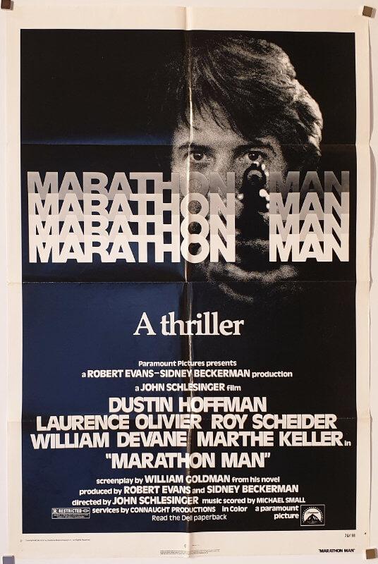 Marathon Man / One Sheet / USA