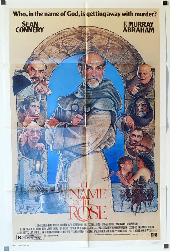 The Name of the Rose / One Sheet / USA