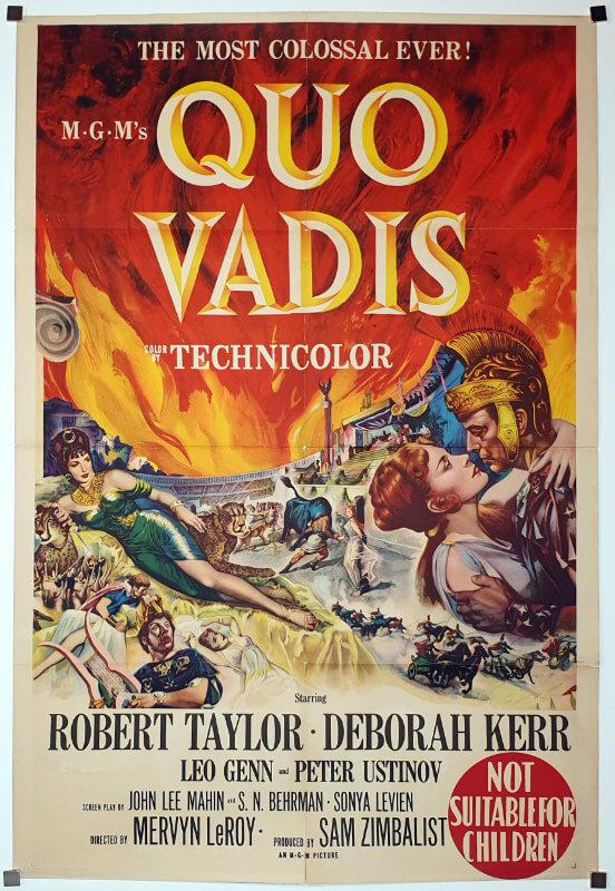 Quo Vadis / One Sheet / Australia
