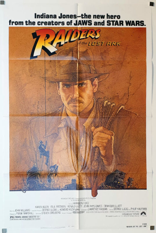 Raiders of the Lost Ark / One Sheet / USA