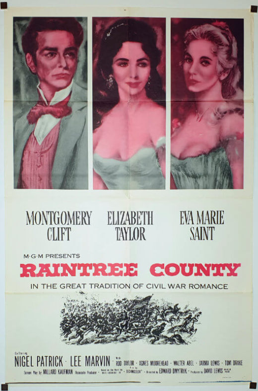 Raintree County / One-Sheet R-60s / USA