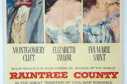 Raintree County / One Sheet / USA