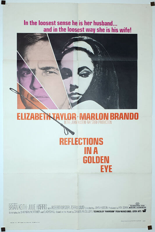 Reflections in a Golden Eye /One Sheet / USA