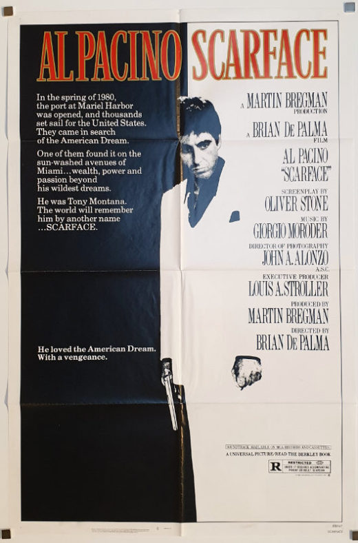 Scarface / One Sheet / USA