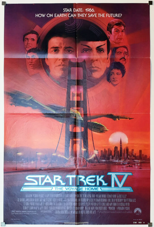 Star Trek IV - The Voyage Home / One Sheet / USA