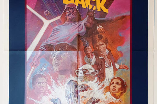 The Empire Strikes Back / One Sheet R-82 / USA