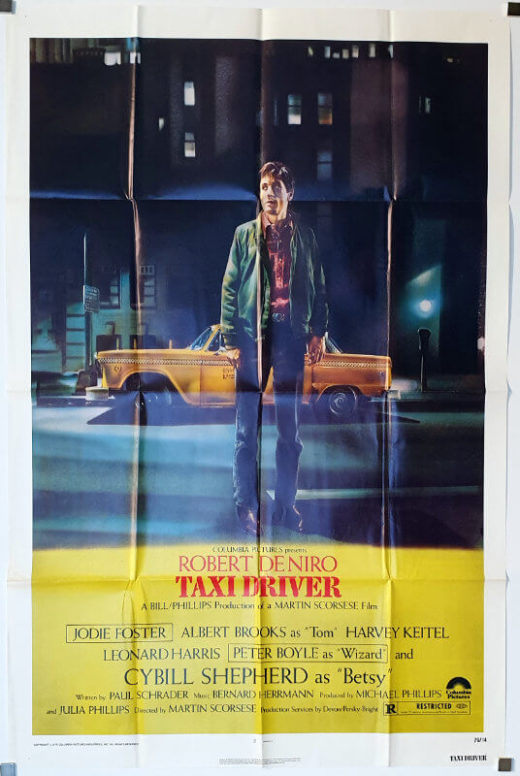 Taxi Driver / One Sheet / USA