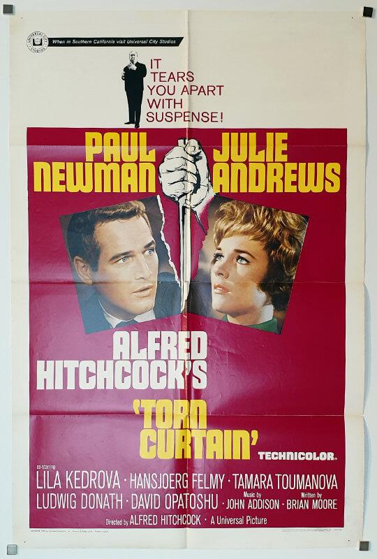 Torn Curtain 1-Sheet USA