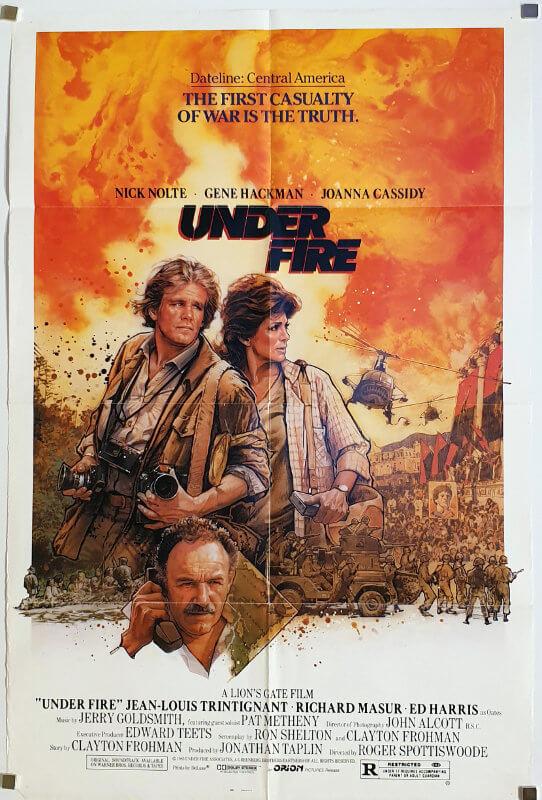 Under Fire / One Sheet / USA