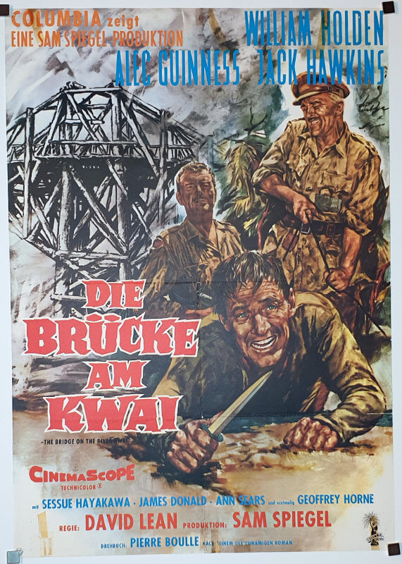 Bridge On The River Kwai A1 R62 Goetze German
