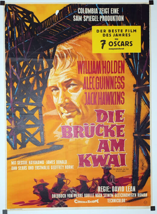 Bridge On The River Kwai A1 style-B Braun German