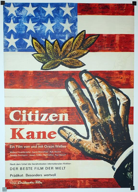 Citizen Kane A1 side1 German EA1962