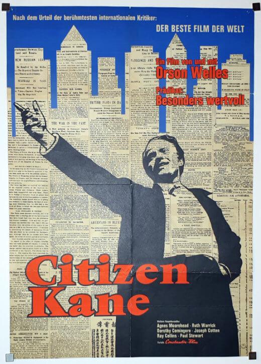 Citizen Kane A1 side2 German EA1962