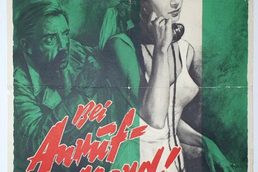 Dial M for Murder A1 R60 Goetze German
