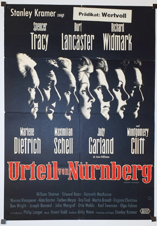 Judgment at Nuremberg A1 German