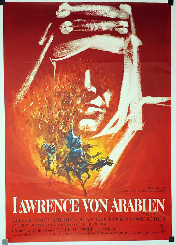 Lawrence Of Arabia A1 Degen German