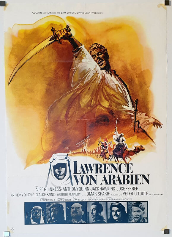Lawrence Of Arabia A1 R76 German
