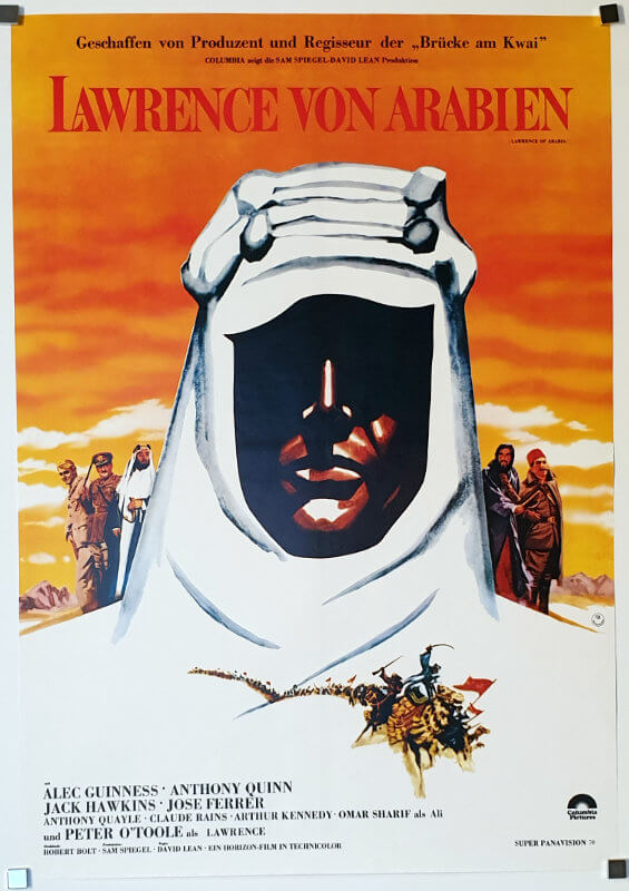 Lawrence Of Arabia A1 R81 German