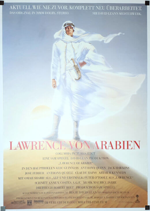 Lawrence Of Arabia A1 R89 German