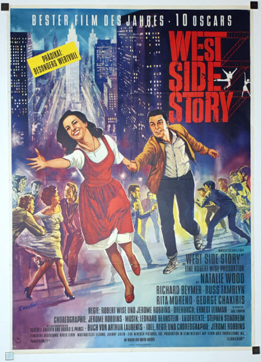 West Side Story A1 Style A Degen German