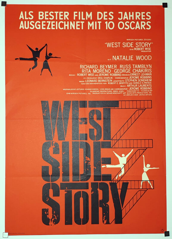 West Side Story A1 Style C German